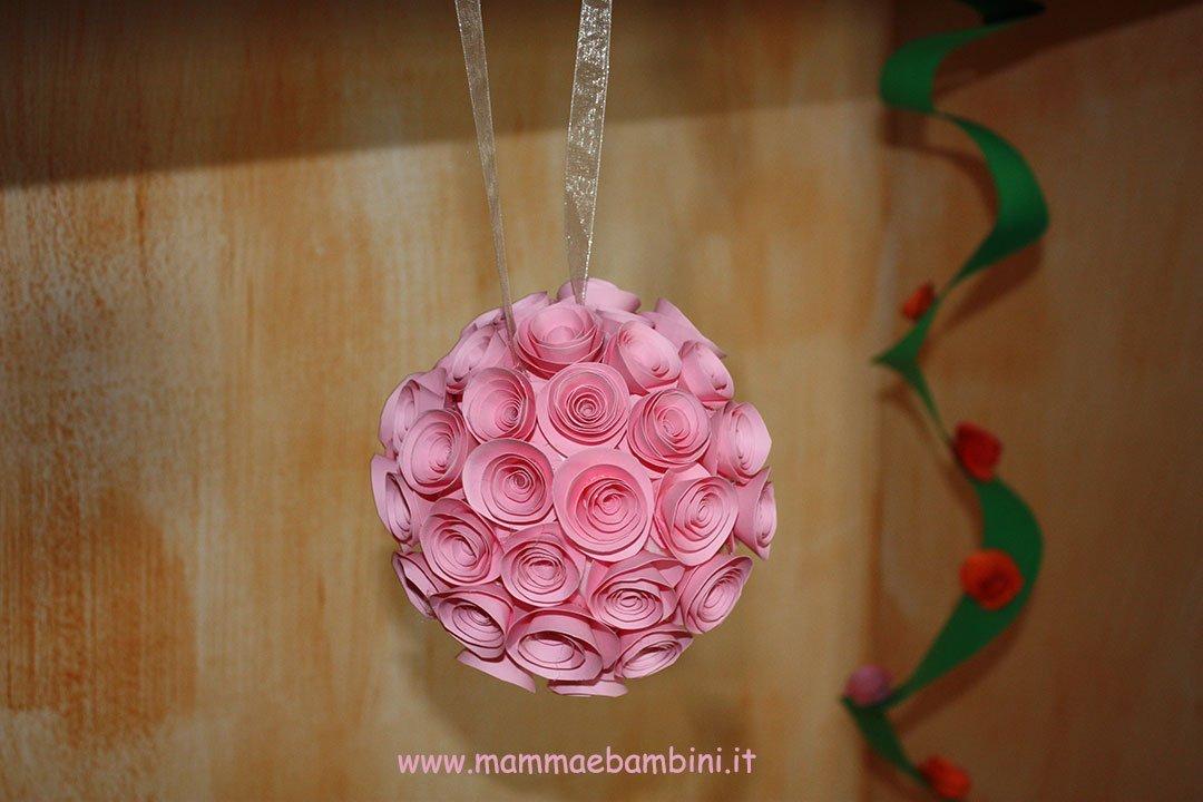 Lavoretto per Festa della mamma con rose 10