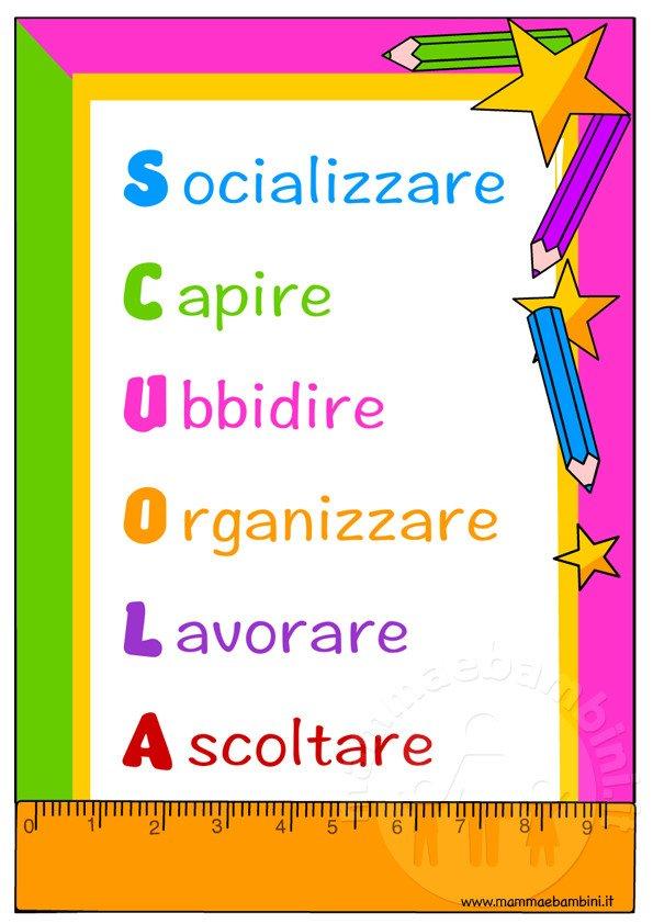 Idee per primo giorno di scuola mamma e bambini - Scuola per piastrellisti ...