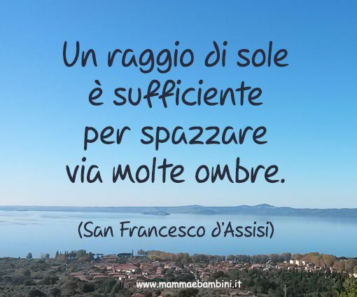 Frase Di San Francesco D Assisi Mamma E Bambini