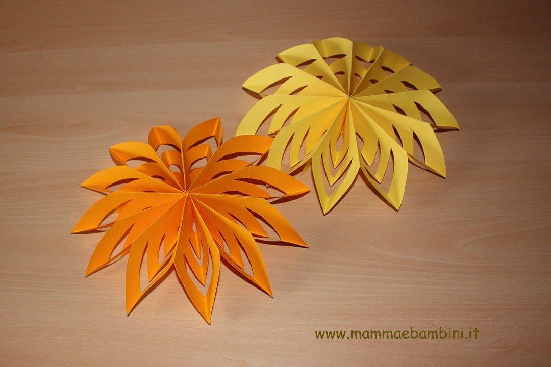 Come fare fiori semplici di carta  (16)