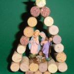 Lavoretti Natale con tappi in sughero