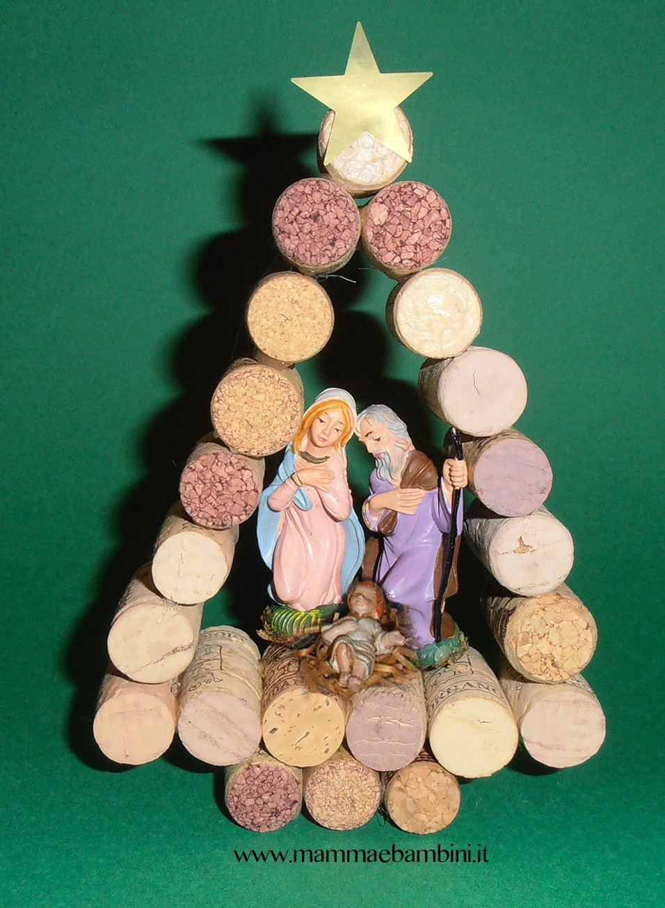 Lavoretti Di Natale Con Tappi Di Bottiglia.Lavoretti Natale Con Tappi In Sughero Mamma E Bambini
