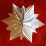 Tutorial stella di carta 3D per Natale