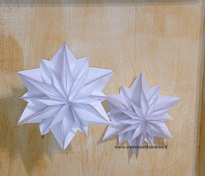 Tutorial stella di carta 3D per Natale-22