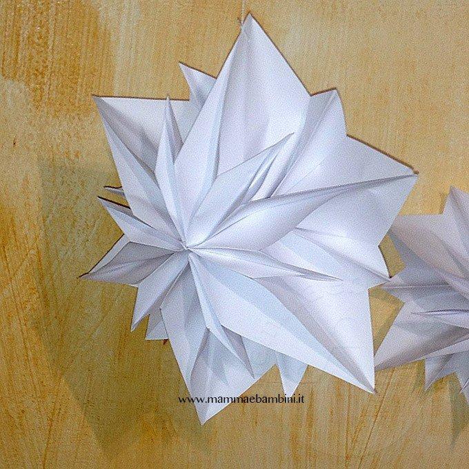 Tutorial stella di carta 3D per Natale-23