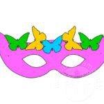 Mascherine di Carnevale per bambini