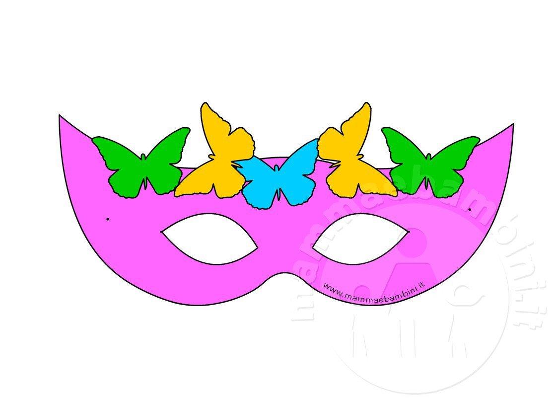 Mascherine di carnevale per bambini mamma e bambini for Immagini di clown da colorare