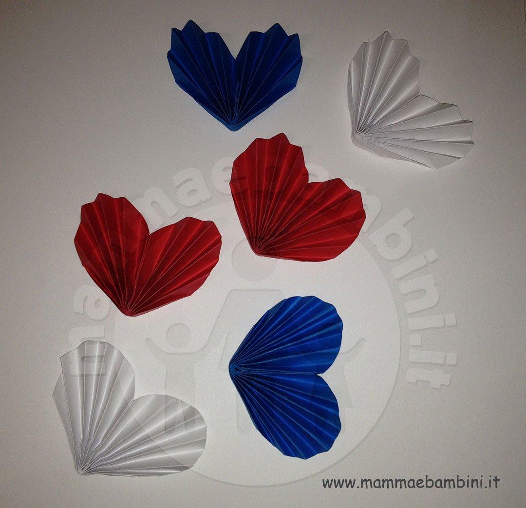 Tutorial cuore di carta a fisarmonica