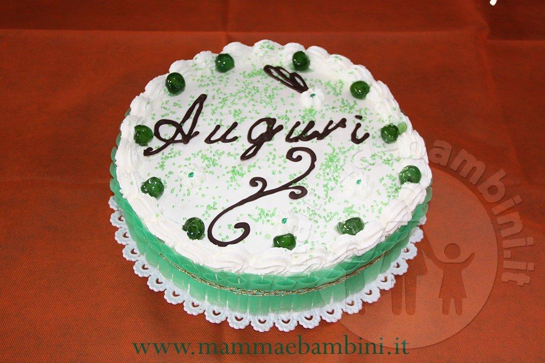 torta compleanno tonda
