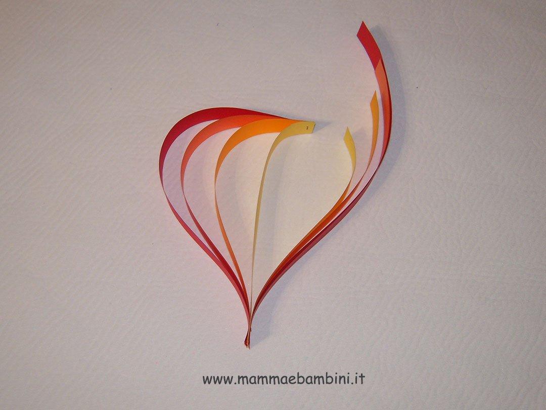 Tutorial cuore di carta n.4