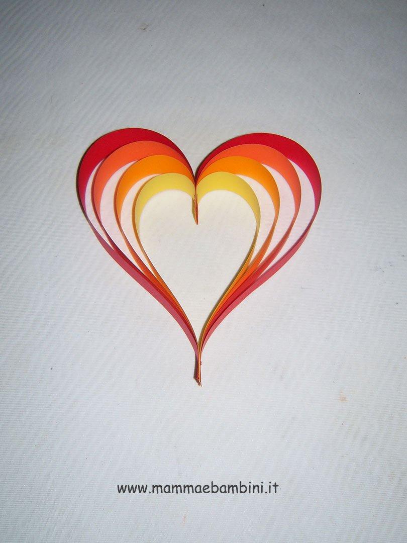 Tutorial cuore di carta n.6