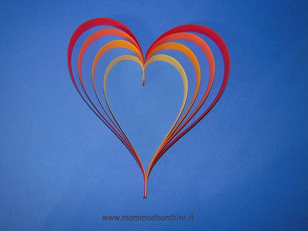 Tutorial cuore di carta foto cuore