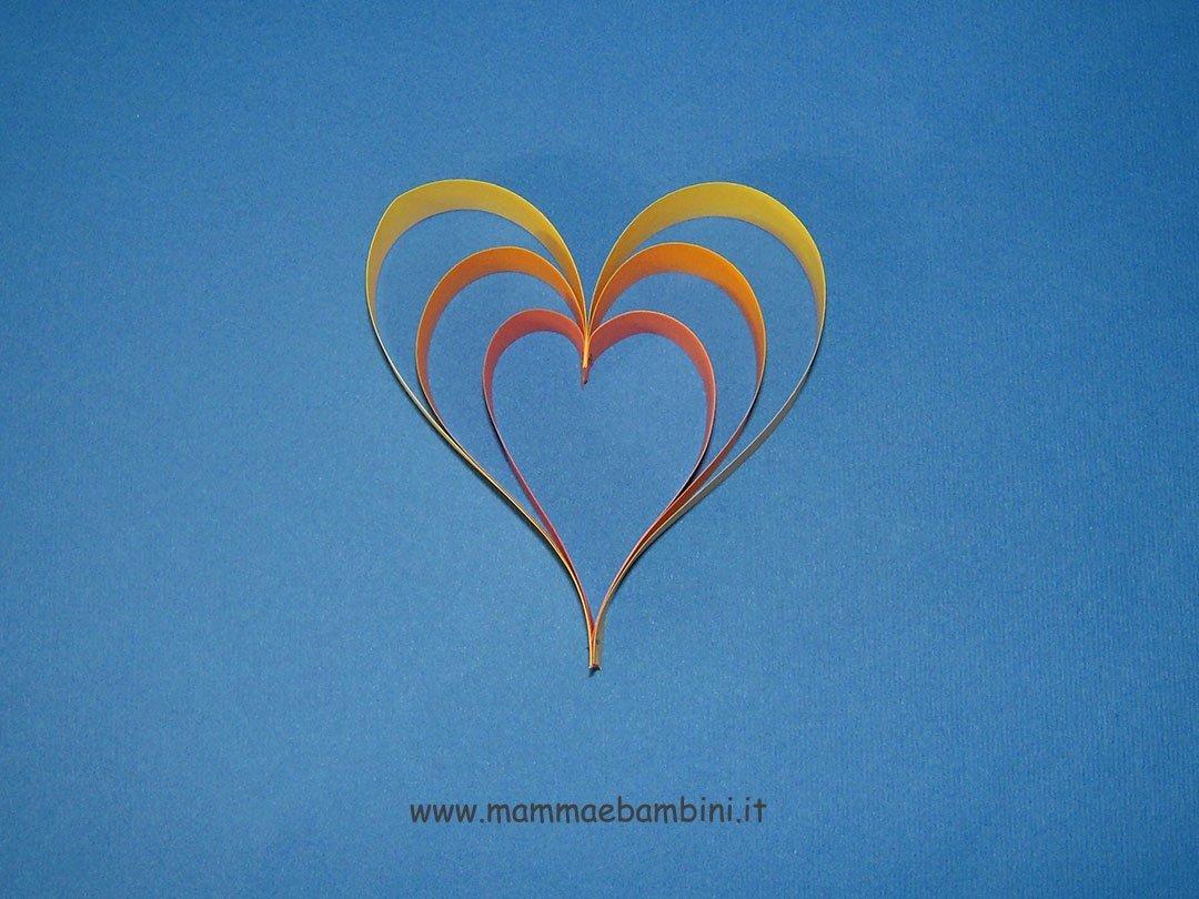 Tutorial cuore di carta