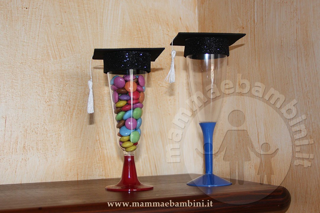 Idee lavoretti fine anno scolastico con bicchieri