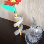 Lavoretto fiore con matita