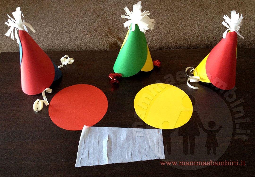 gamma esclusiva stile limitato vende Tutorial cappellini di carta per feste - Mamma e Bambini