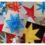 31 Decorazioni natalizie a forma di stella e fiocco di neve