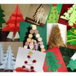 37 Idee per decorazioni natalizie a forma di albero
