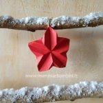 Come realizzare Stella di Natale origami