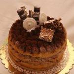 Torta con crema al mascarpone e latte condensato