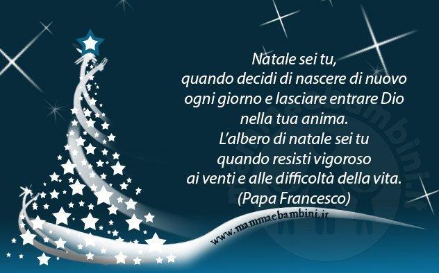 Papa Francesco Frasi Sul Natale.Frase Del Giorno 24 12 Natale Mamma E Bambini