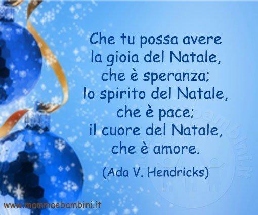 Frasi Natale E Amore.Frase Del Giorno 06 12 Natale Mamma E Bambini