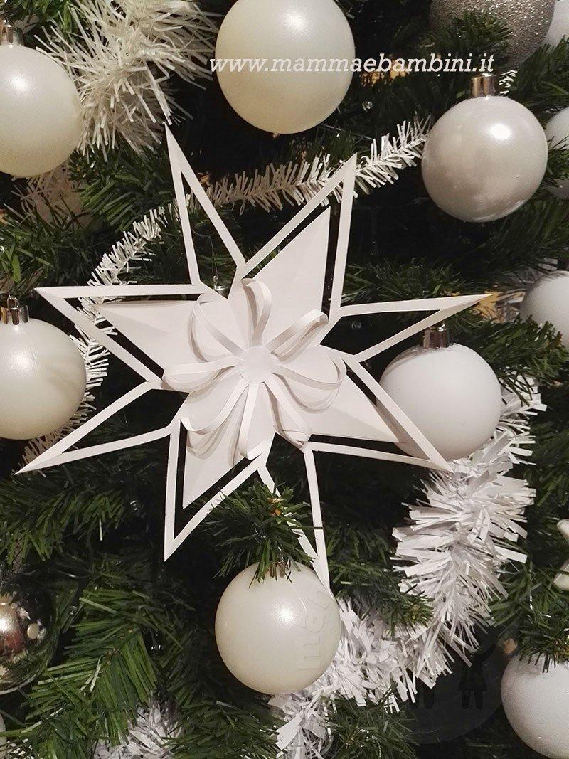 Tutorial stelle di carta per Natale