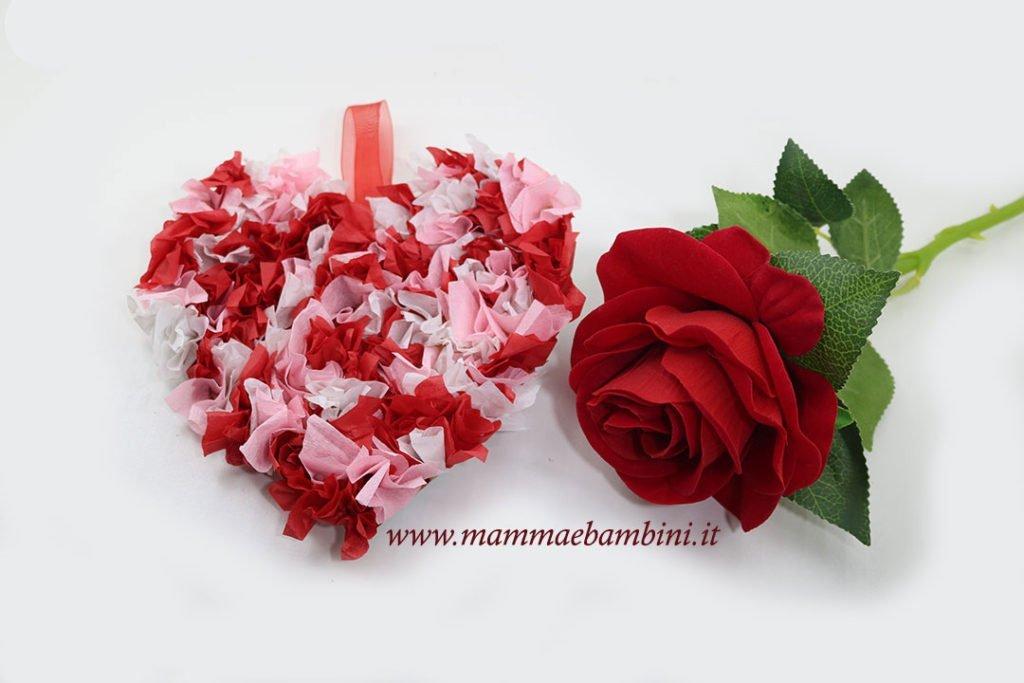 Tutorial cuore San Valentino di carta