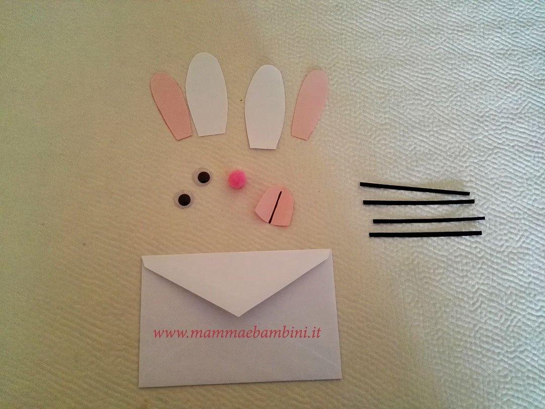 Decorazioni Lettere D Amore busta da lettere decorata per pasqua - mamma e bambini