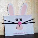 Busta da lettere decorata per Pasqua