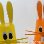 Lavoretti Pasqua con bicchieri facili