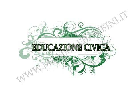 Educazione civica copertina quaderno