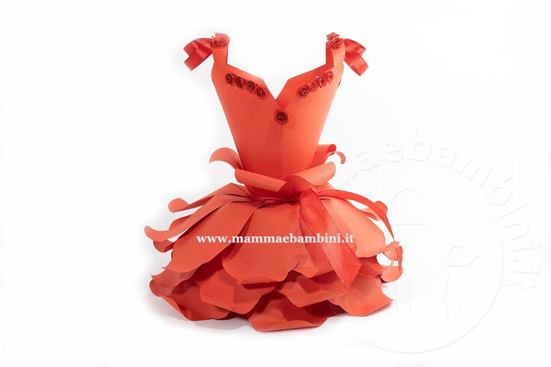 Tutorial abito fiore di carta