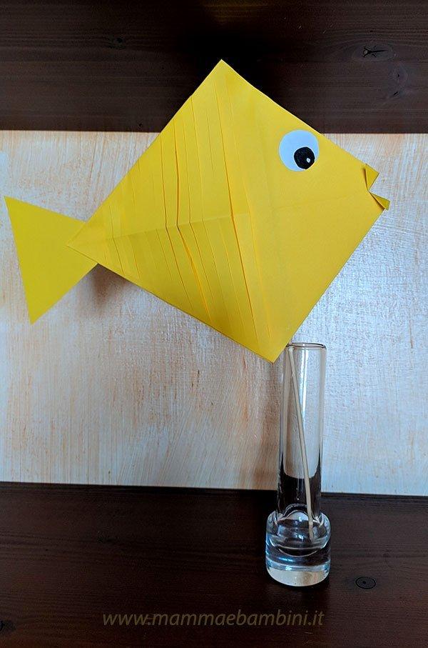 Lavoretti pesce di carta