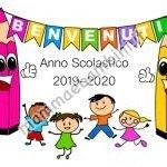Scritta Benvenuti Anno Scolastico 2019-2020