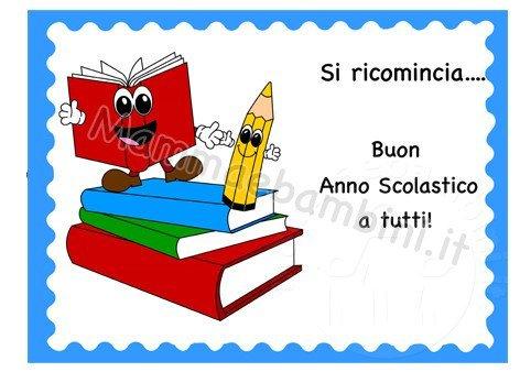 Cartellone Buon Anno Scolastico