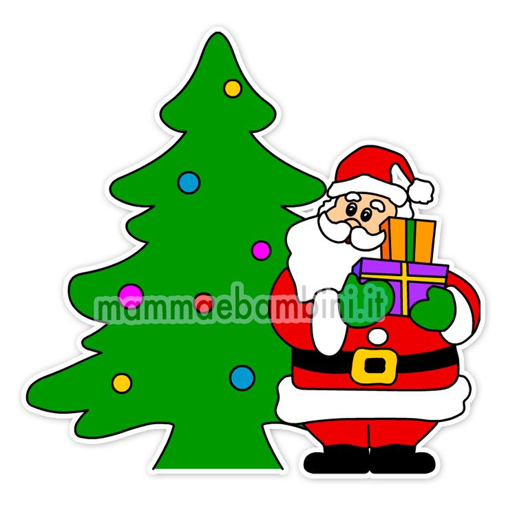 Decorazioni natalizie da stampare
