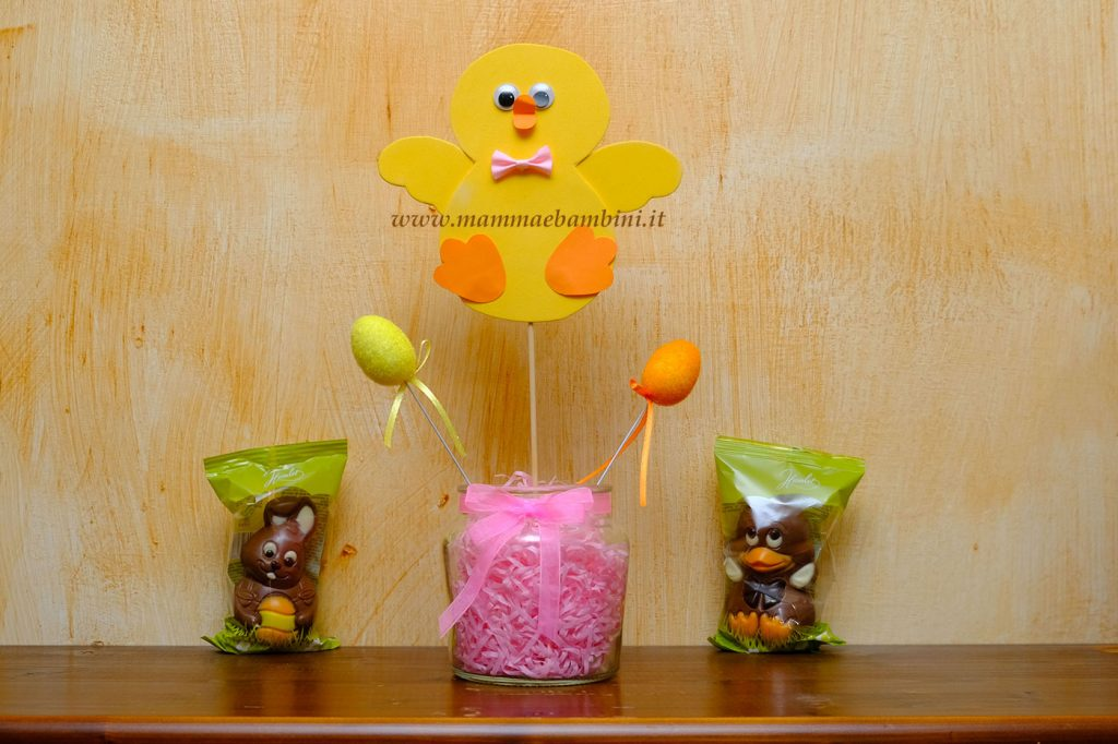 Lavoretto Pasqua con pulcino